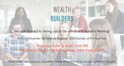 Wealth builders nyc 4th meeting peatix for 1633 broadway 28th floor new york ny 10019