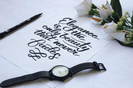 Basic brush calligraphy workshop just josh x dhv peatix
