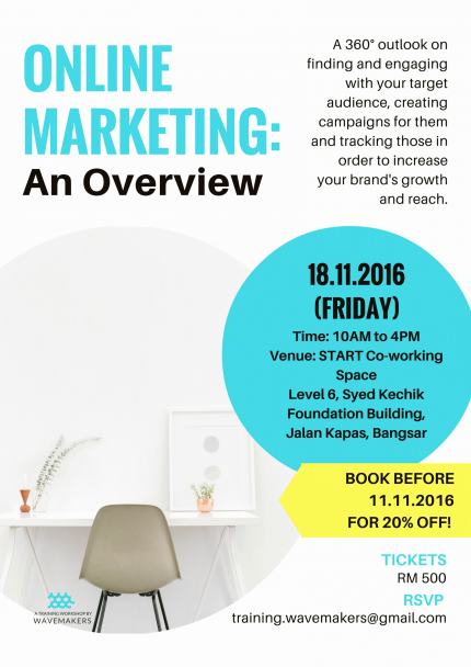 Online Marketing Workshop: Finding & Engaging with Your