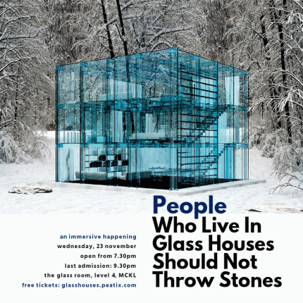 the creative writing those in glass houses should not throw stones Breaking the barrier with emmy-winning jen ralston saying that people who live in glass houses shouldn't throw stones creative writing.
